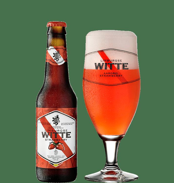Limburgse Witte - Aardbei